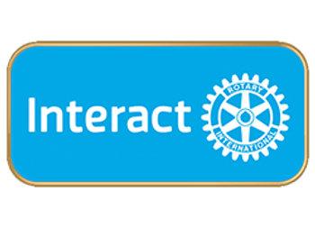 Interact Kitűző