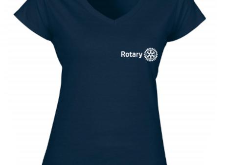 Rotary V-Nyakú Női póló