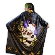 Mushroom Skull Blanket