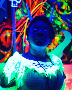 I have a huge collection of neon photos I am just dying to share with you! This one here was taken d