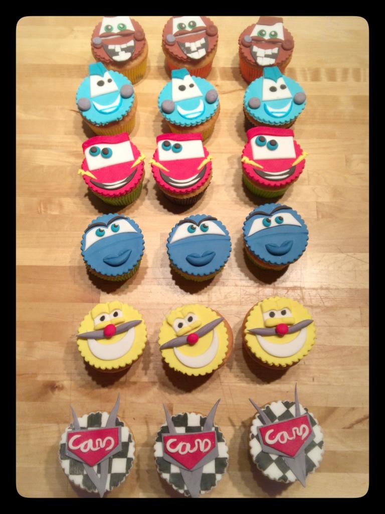 "Cupcake ""Cars"""