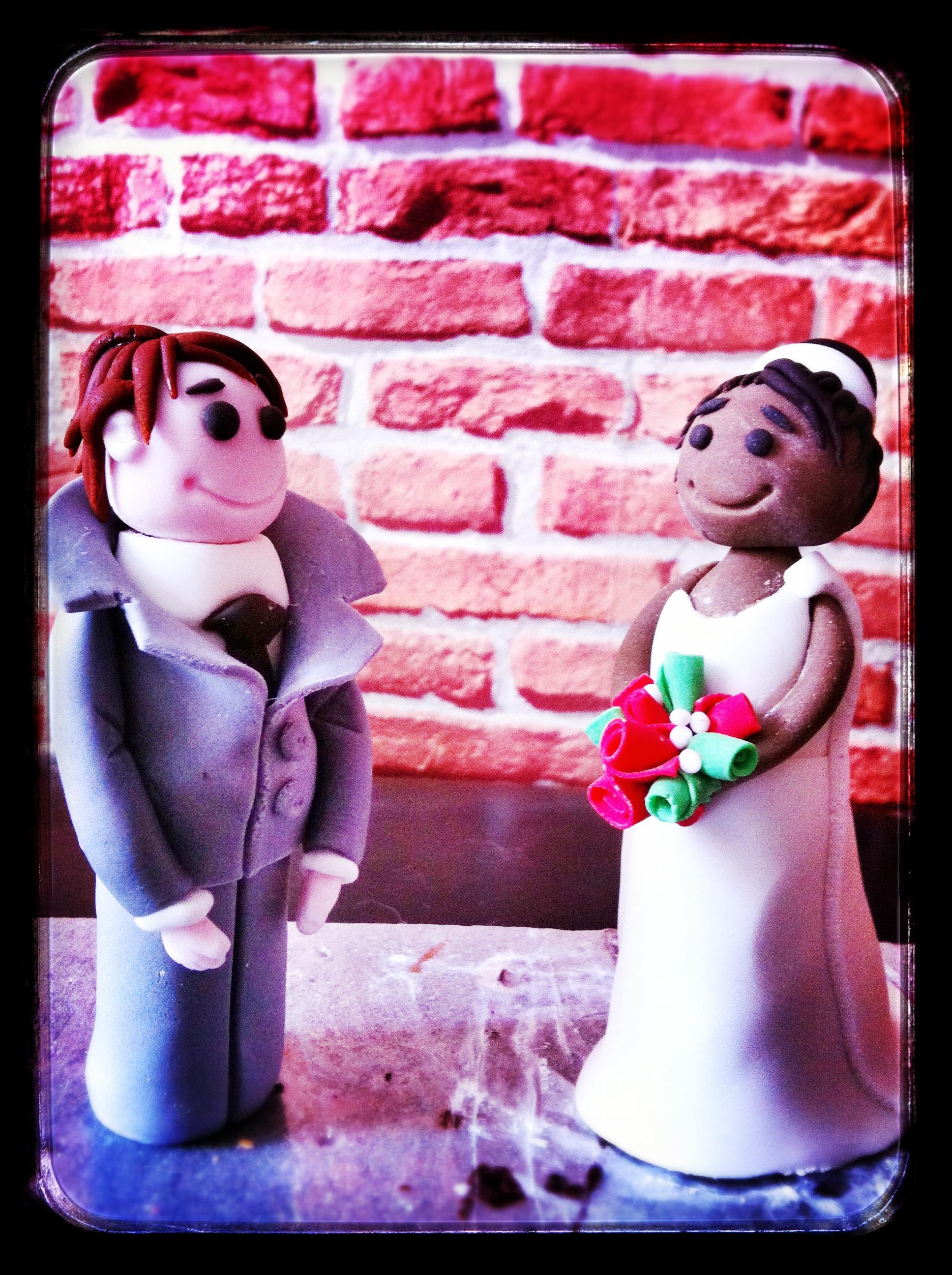 Le couple de marié