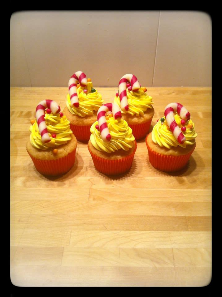 cup cake sucre d'orge