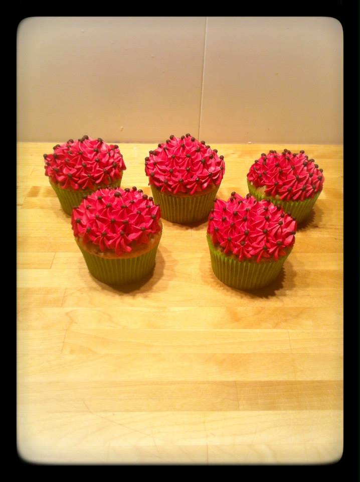 cup cake Flower Power!!