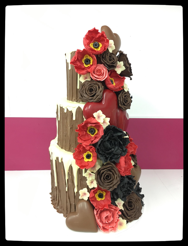 Wedding Cake 100%Chocolat