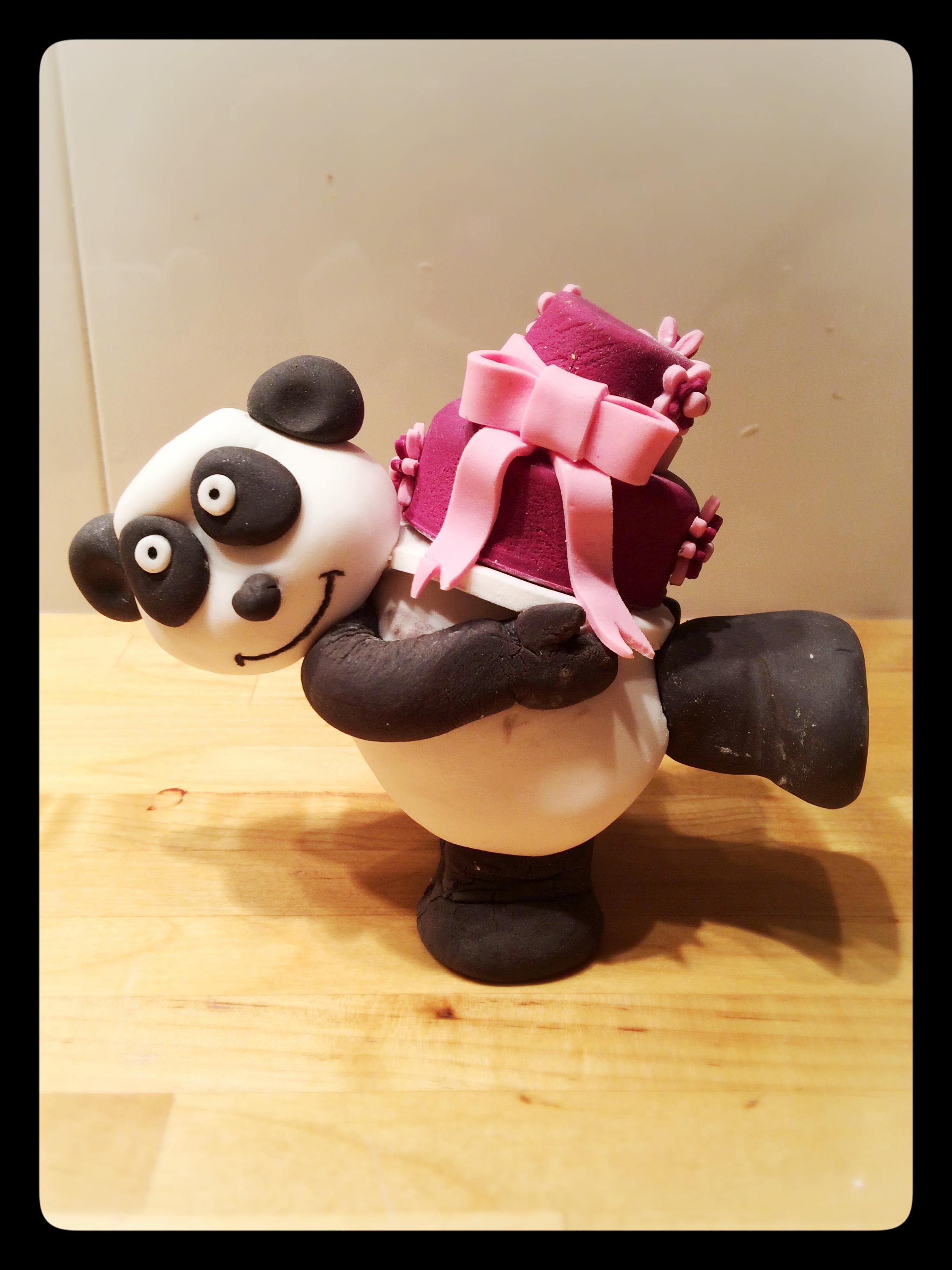 Petit Panda et son cadeau