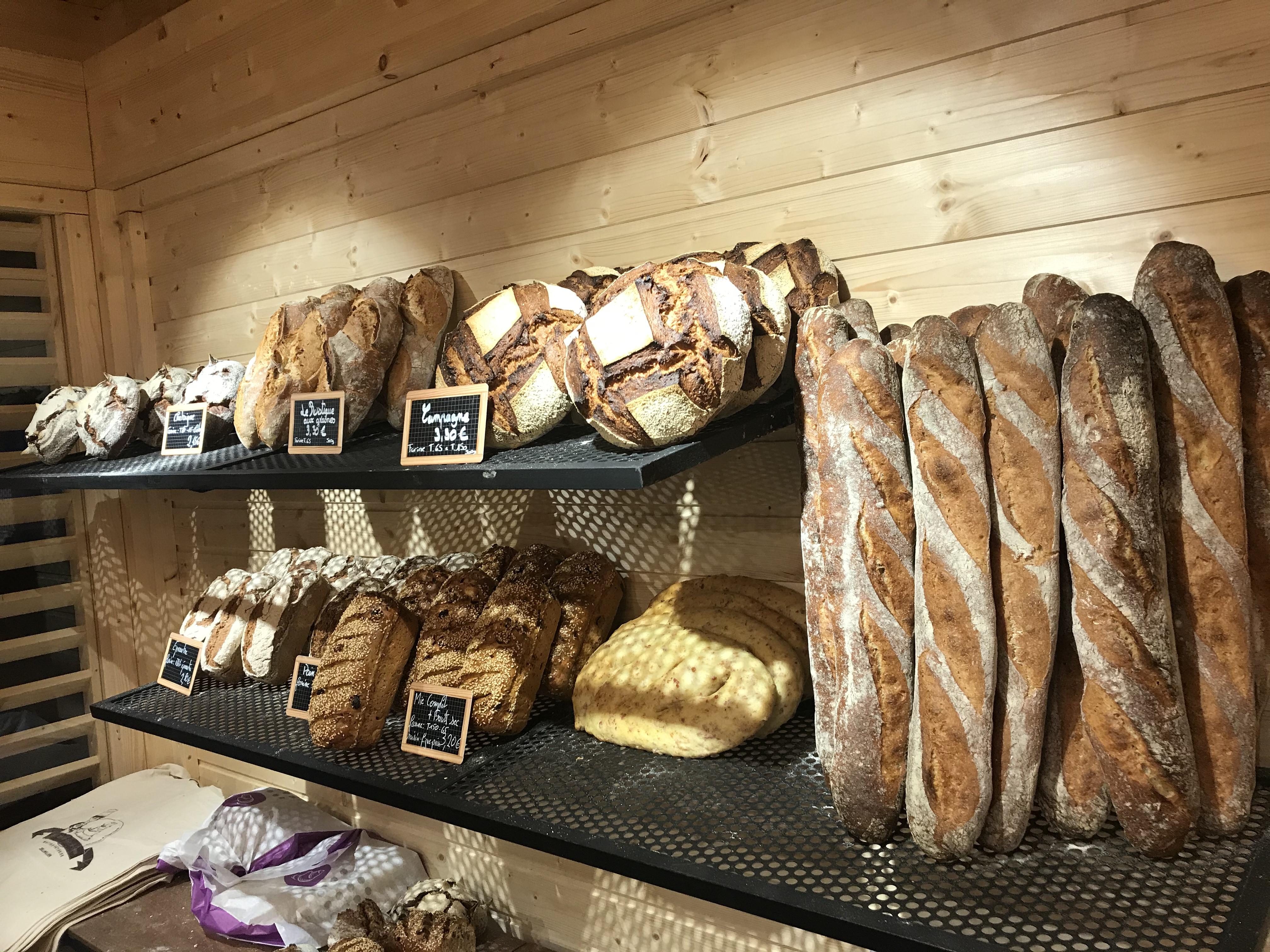 notre gamme de pain