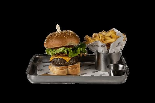 B.L.T. burger