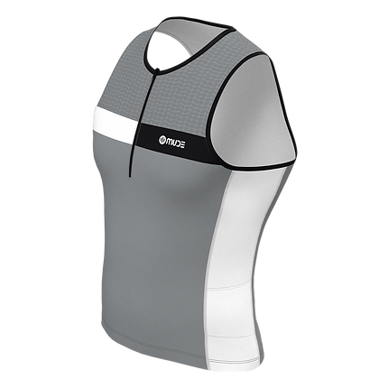 Male Tri Top Sleeveless HIPS Grey