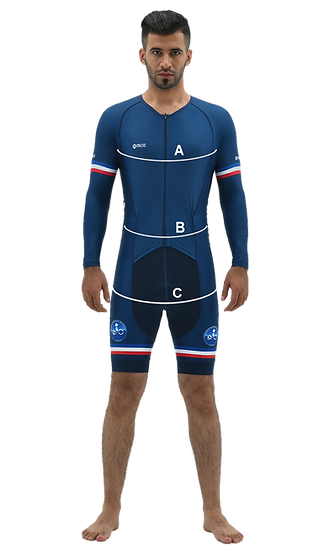 Body Measurement for Skinsuits - Man - w