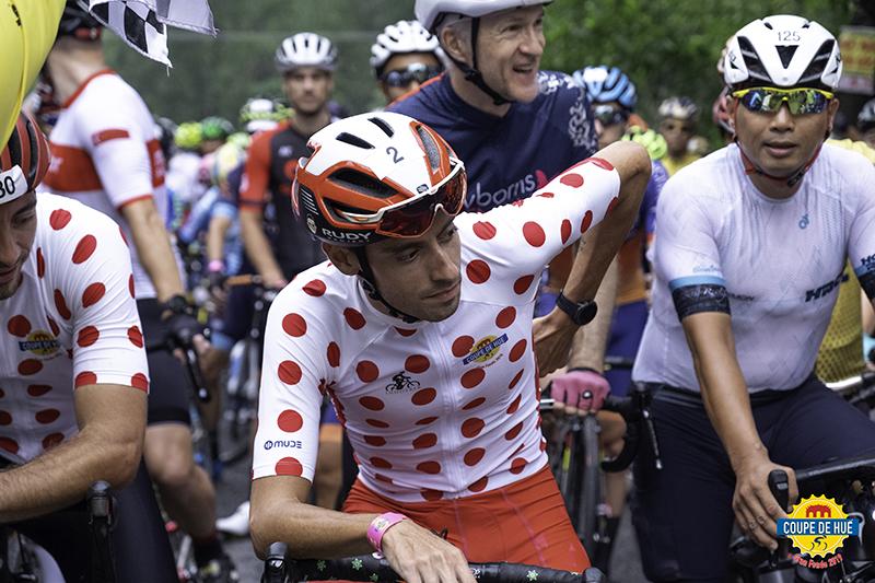 Javier Sarda wearing MUDE at Coupe de Hue