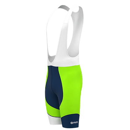 Cycling Shorts Bib Green