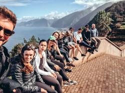 Digitalnomads Madeira Sightseeing der Crew vom Homeoffice Madeira: CoLiving + CoWorking