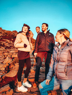 CoWorking + CoLiving ... Bergtour unserer Crew