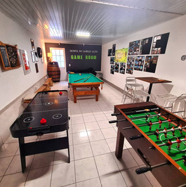 Game room for after work and for lunch breaks