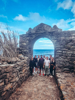 Group out in Sao Jorge