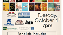 Dr. Ward on Diversity in Young Adult Literature Panel - Oct. 4