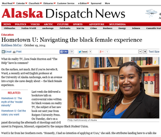 Alaska Dispatch News Features Dr. Ward & Her Work