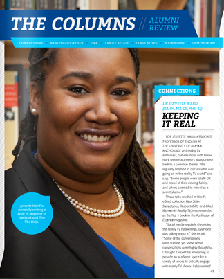 University of Memphis Magazine Profile on Dr. Jervette R. Ward