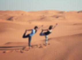 Retraite deYoga Sahara