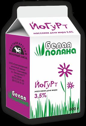 Йогурт без наполнителя – м.д.ж. 3,5%