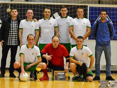 Команда «СМЗ» заняла второе место на блиц-турнире по мини-футболу «Осенний триумф – 2018».
