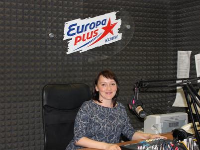 В гостях у радиостанции «Европа плюс Коми»