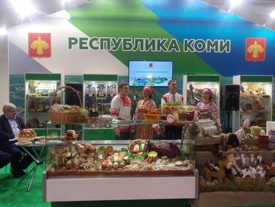 ООО «Сыктывкарский молочный завод» принял участие в юбилейной агропромышленной выставке России «Золо