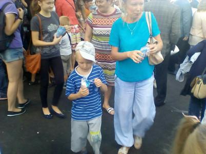 ООО «Сыктывкарский молочный завод» выступил спонсором открытия парка им. Кирова.
