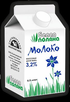 Молоко питьевое пастеризованное – м.д.ж.3,2%