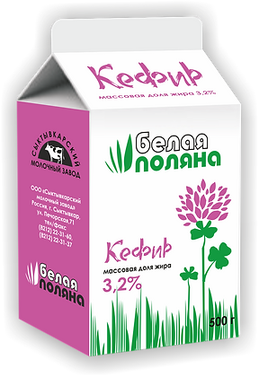 Кефир - 3,2% (0,5) т/п