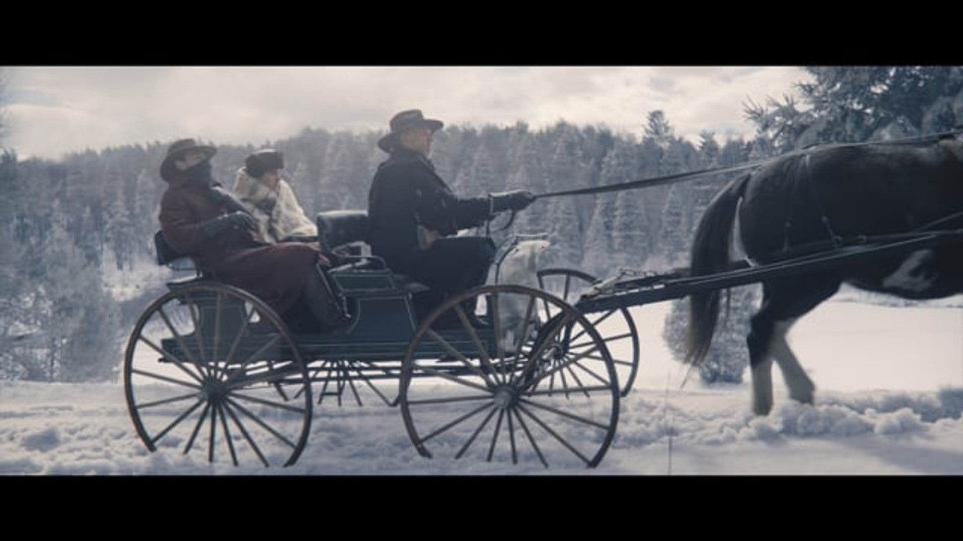 Heart of the Country - Set Extension CG Snow on Road Simulation - Movie