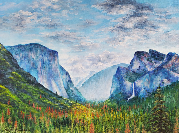 Yosemite Mountain Landscape
