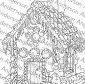 Gingerbread House Challenge Image Traceable