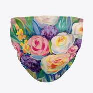 Impressionist Floral Face Mask