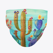 Colorful Cactus Mask