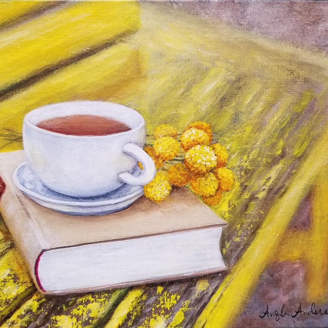 Teacup & Book