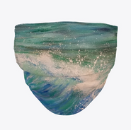 Ocean Wave Face Mask