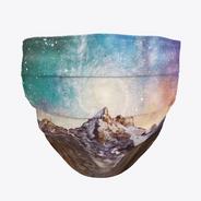 Galaxy Mountain Mask