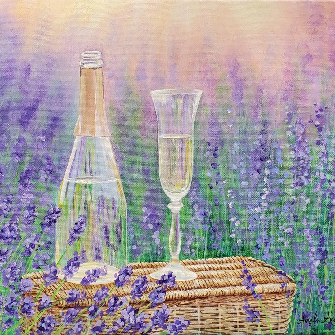 Lavender Wine