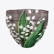 Lily of the Valley Face Mask