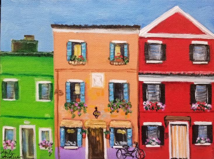 Colorful Houses (Angela)