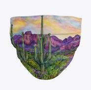 Desert Sunset Face Mask