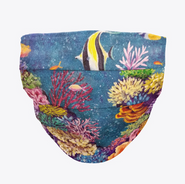 Coral Reef Face Mask