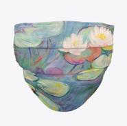 Monet Waterlilies Face Mask