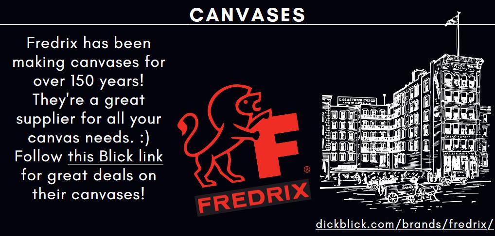 Fredrix Canvases