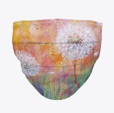 Dandelion Face Mask