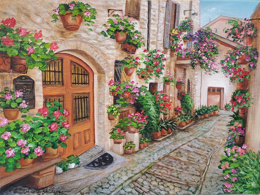 Italian Street Alley