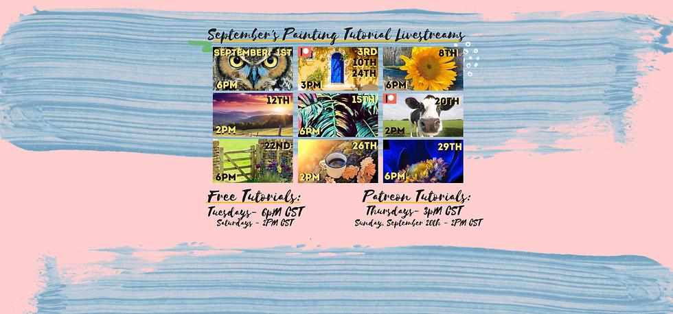 September's Schedule