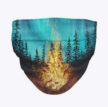 Campfire Face Mask